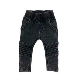KMDB KMDB Kids Bikerpants Vic Acid Wash Black