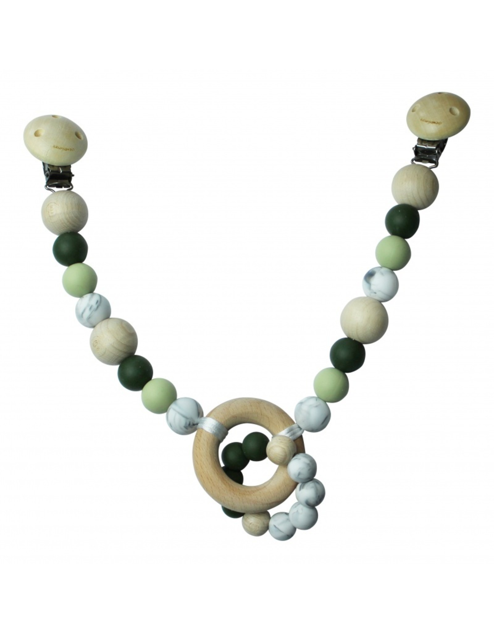 Chewies and More Chewies&More Wagen Spanners Deep Green/Oud groen/Marble