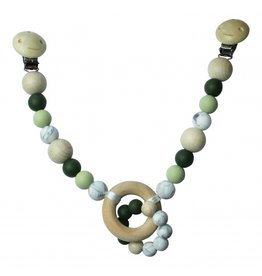 Chewies and More Chewies&More Wagenspanner Deep Green/Oud groen/Marble