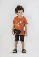 KMDB KMDB Kids Shorts Vinn Acid Wash Black