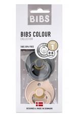 BIBS BIBS Fopspeen Duopack Iron/Blush maat 3