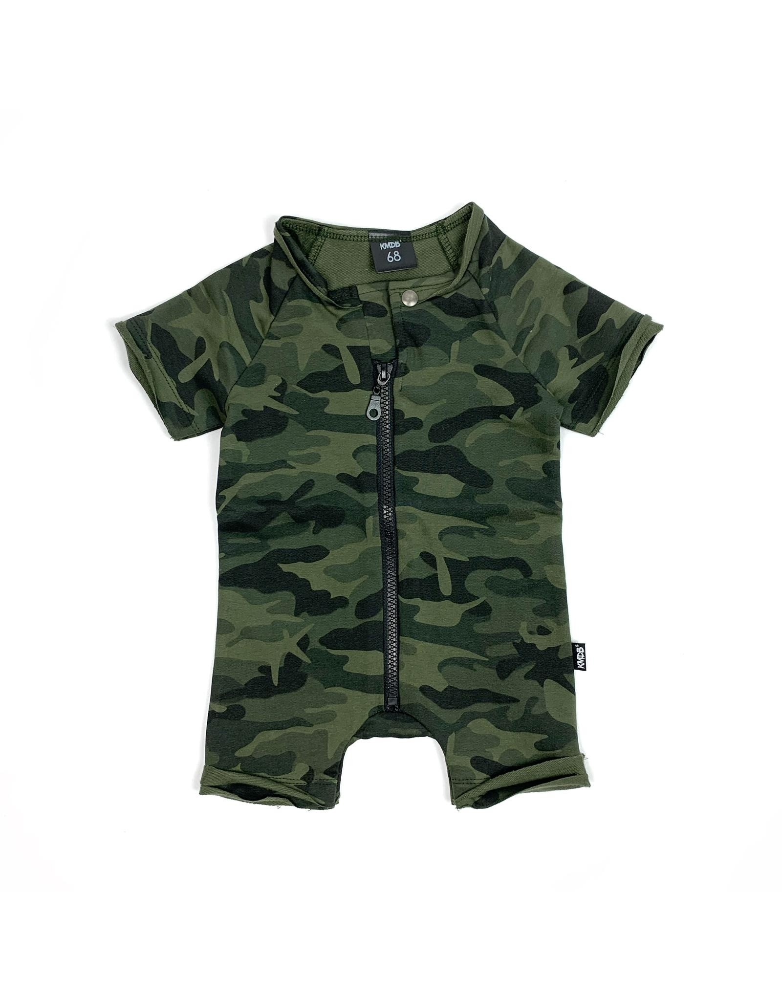 KMDB KMDB Playsuit Summer Camo Green