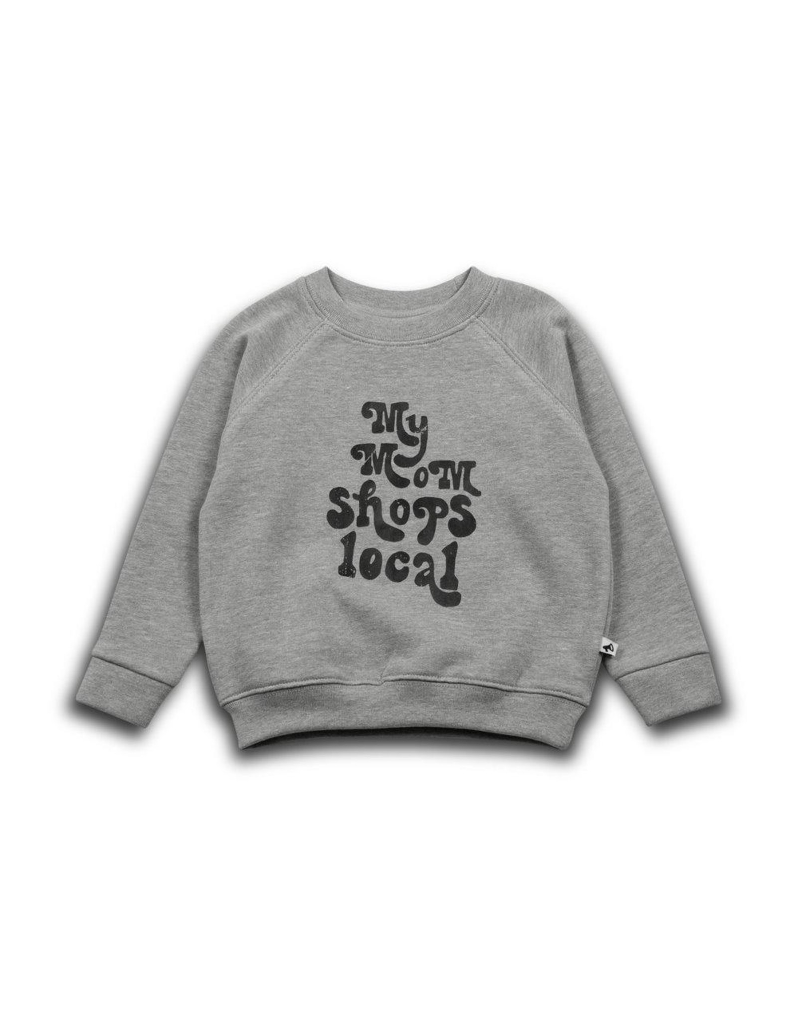 Cos I Said So Cos I Said So Sweater Grey My Mom Shops Local Maat 104/110