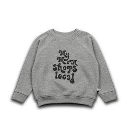 Cos I Said So Cos I Said So Sweater Grey My Mom Shops Local Maat 104/110