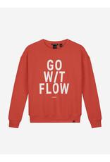 Nik&Nik NIK&NIK Flow Sweater Coral Red