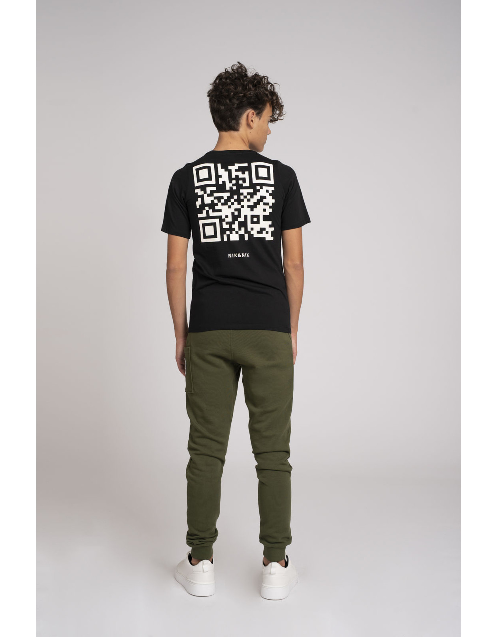 Nik&Nik NIK&NIK Marnix T-shirt Black