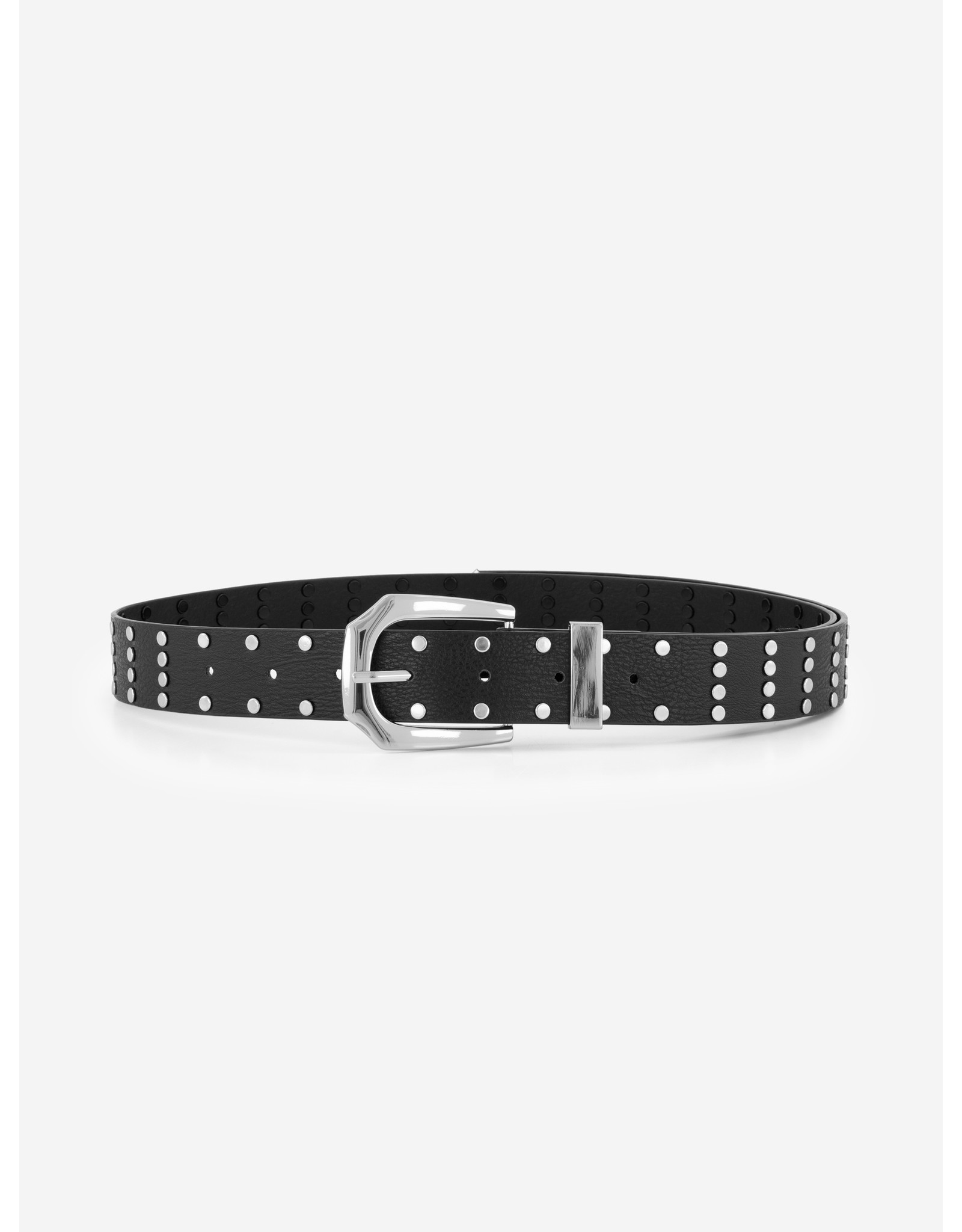Nik&Nik NIK&NIK Studded Long Belt Black
