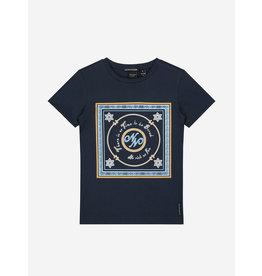 Nik&Nik NIK&NIK No Risk T-shirt Royal Blue