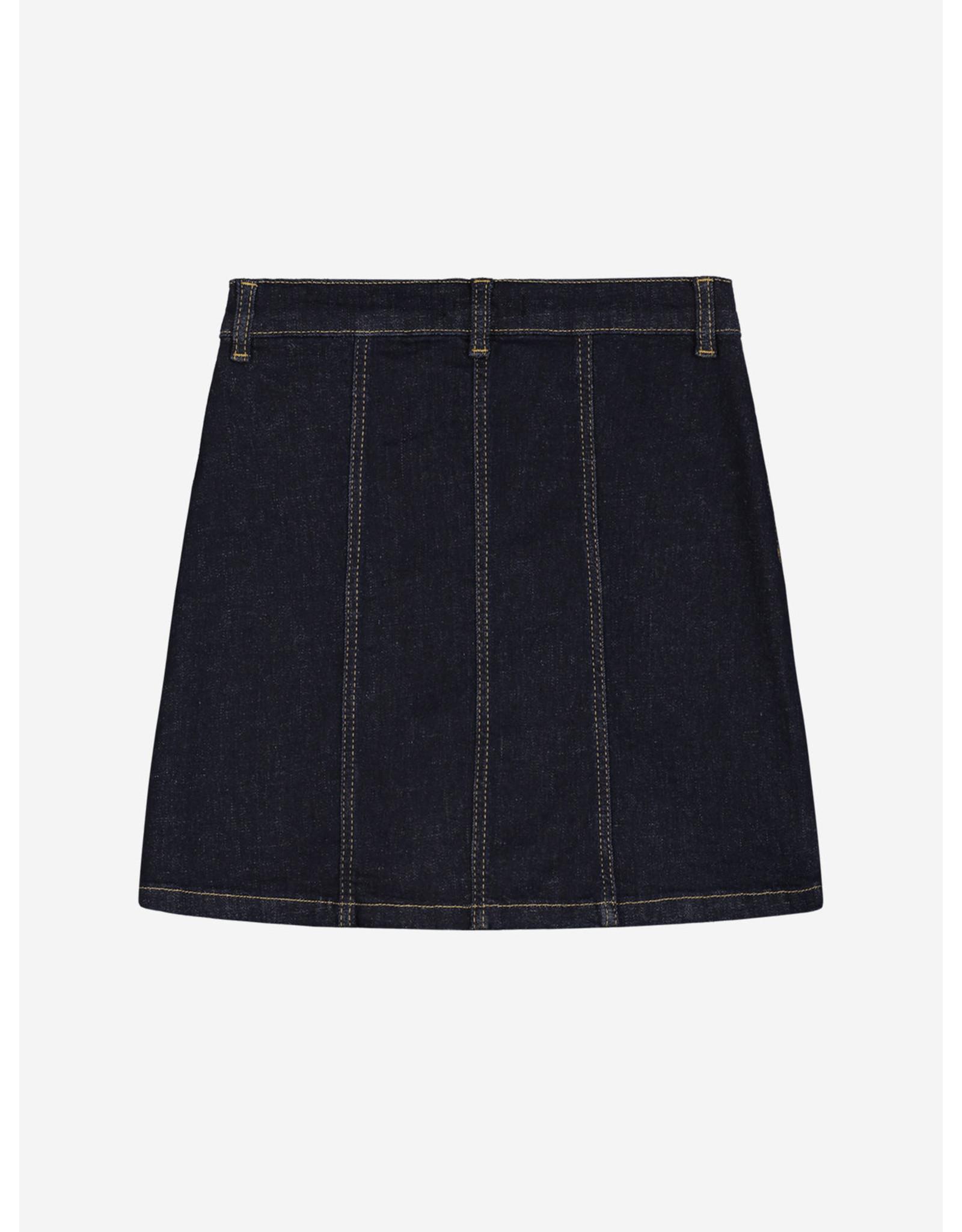Nik&Nik NIK&NIK Florijne Denim Skirt Blue Denim