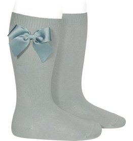 Condor Condor Knee High Socks with side Bow