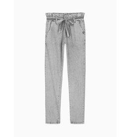 Nik&Nik NIK&NIK Fienne Paperbag Pants Grey Stonewash