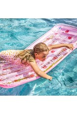 Swim Essentials Swim Essentials Luchtbed Roze Met Stippen