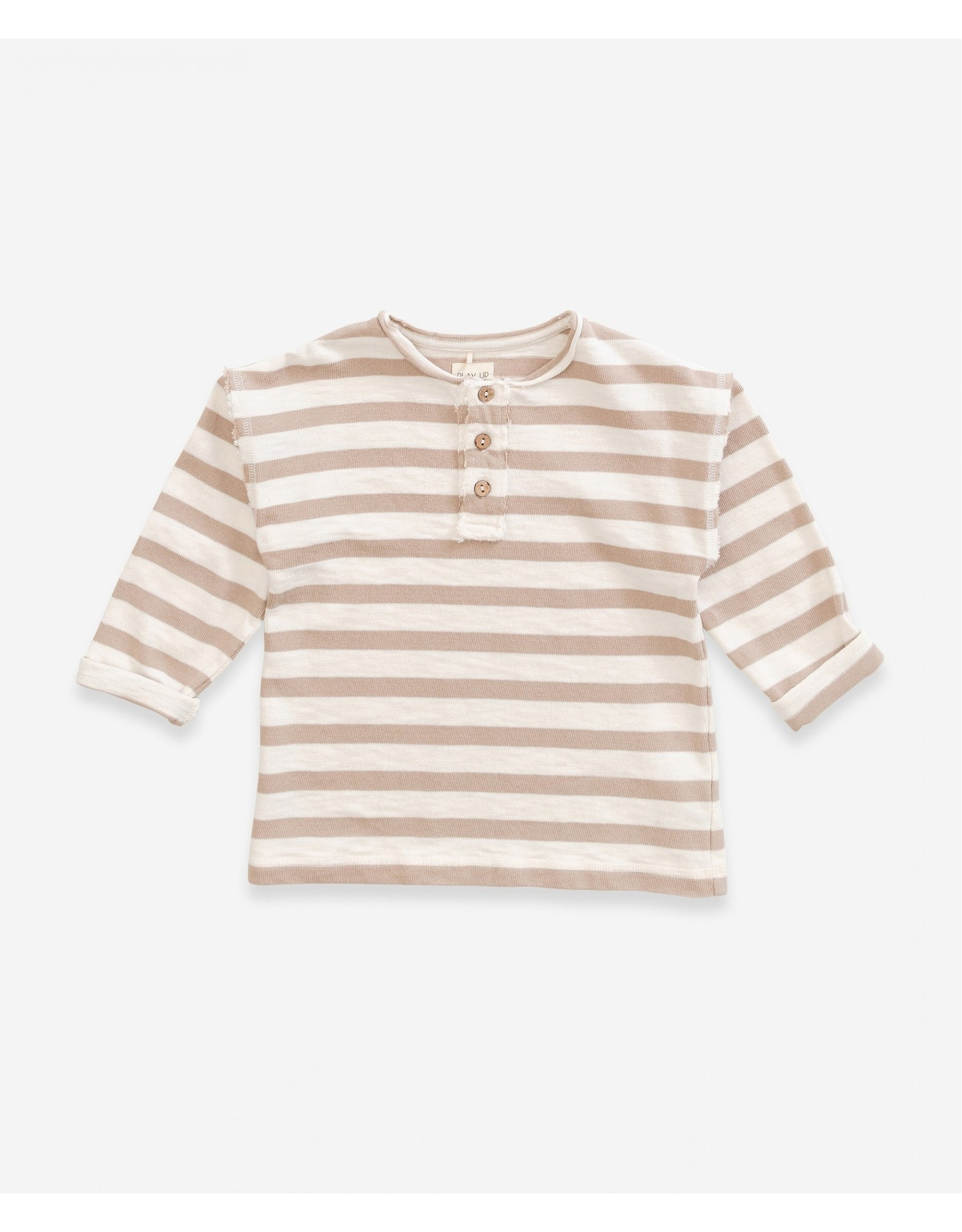 Play Up Play Up Striped Jersey Sweater PEARL