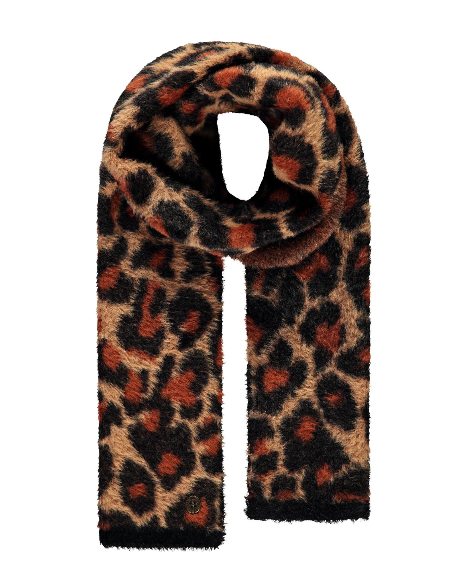 Like Flo Like Flo Girls Hairy Knitted Scarf ANIMAL One Size