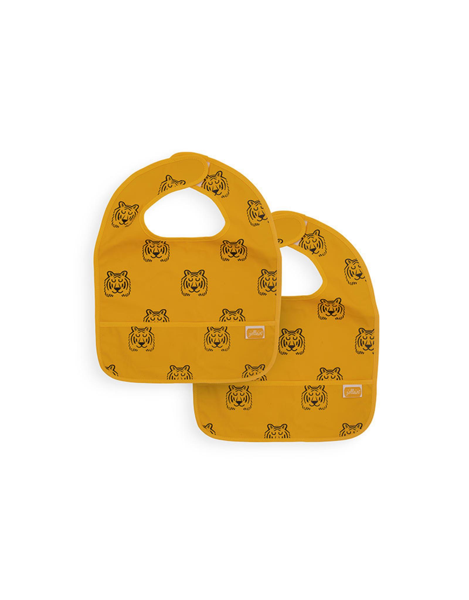 Jollein Jollein Slab Waterproof Tiger Mustard (2Pack)