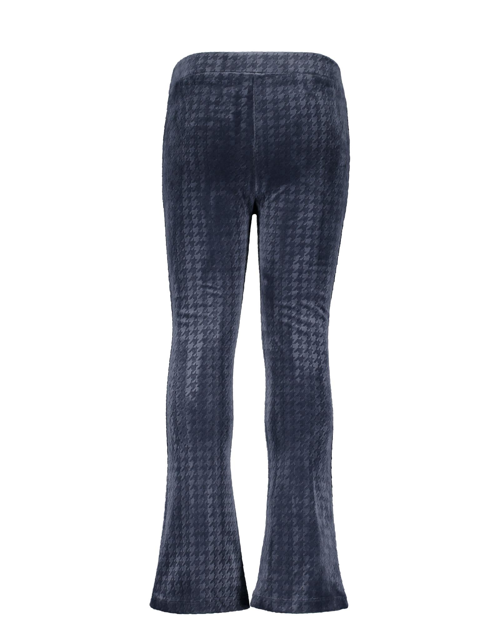 Like Flo Like Flo Girls PDP Relief Flared Pants-Navy