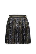 Like Flo Like Flo Girls Velvet Plisse Skirt-Snake