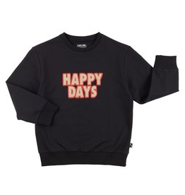 CarlijnQ Happy days sweater embroidery patch