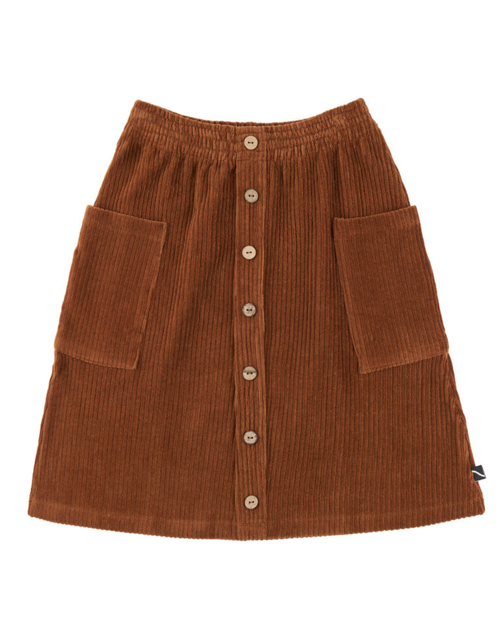 CarlijnQ Basics midi skirt brown