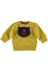BESS BESS Sweater Tiger Ocre