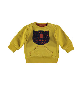 BESS BESS Sweater Tiger Ocre