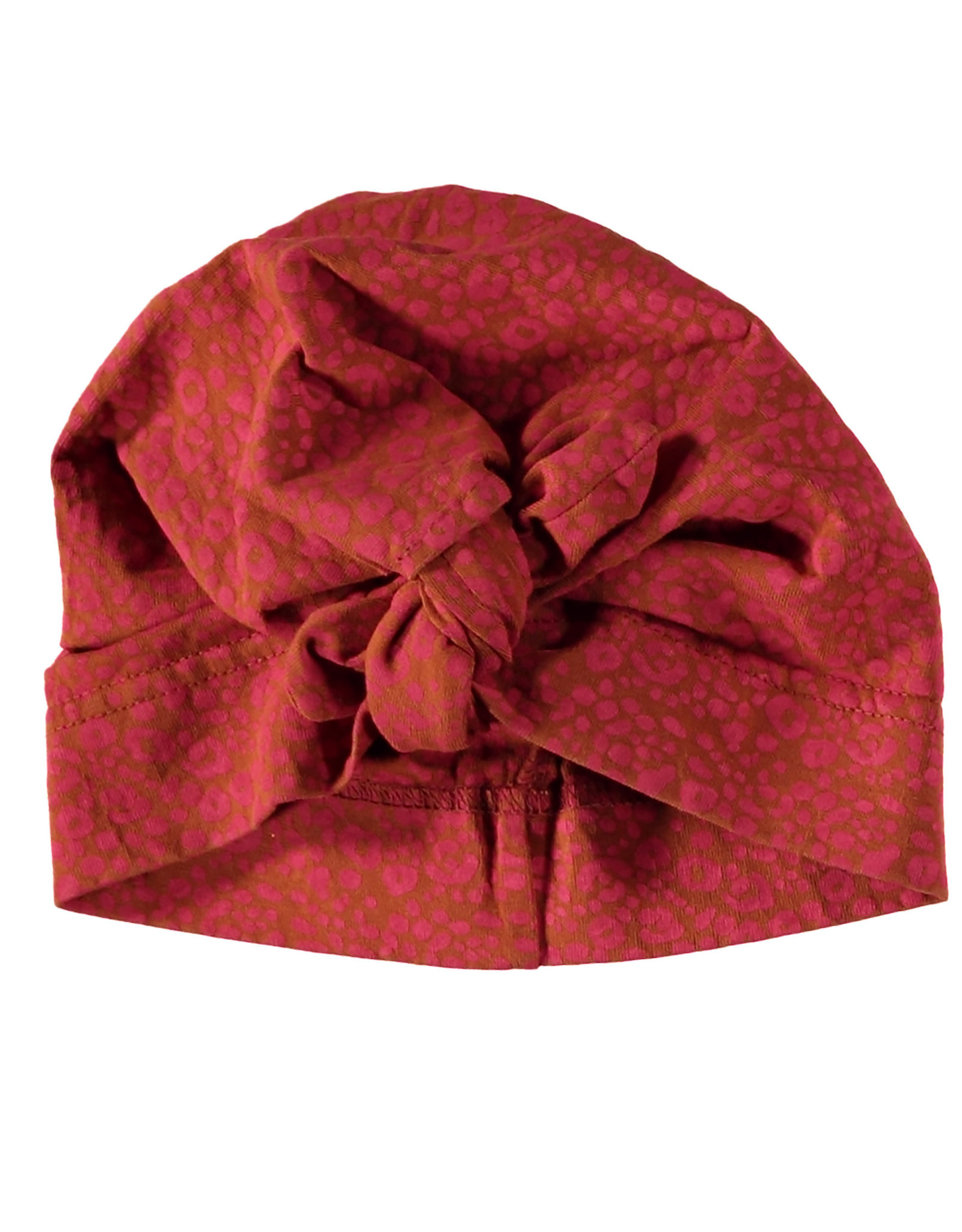 BESS BESS Hat Knot AOP Coral