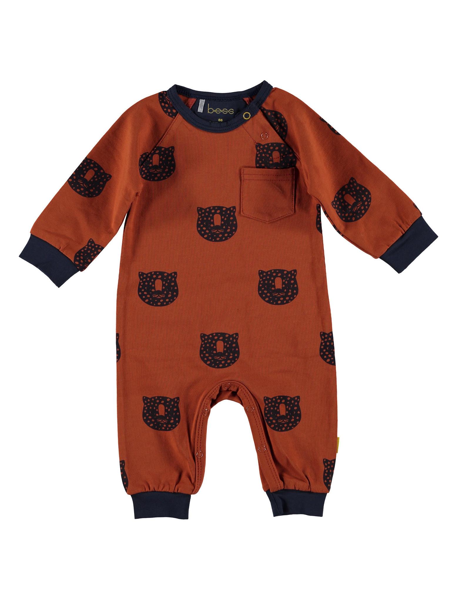 BESS BESS Suit AOP Tiger Rusty