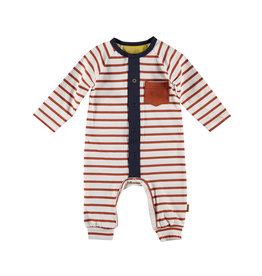 BESS BESS Suit Striped With Pocket Rusty