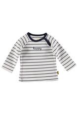 BESS BESS Shirt LS Striped Happy White