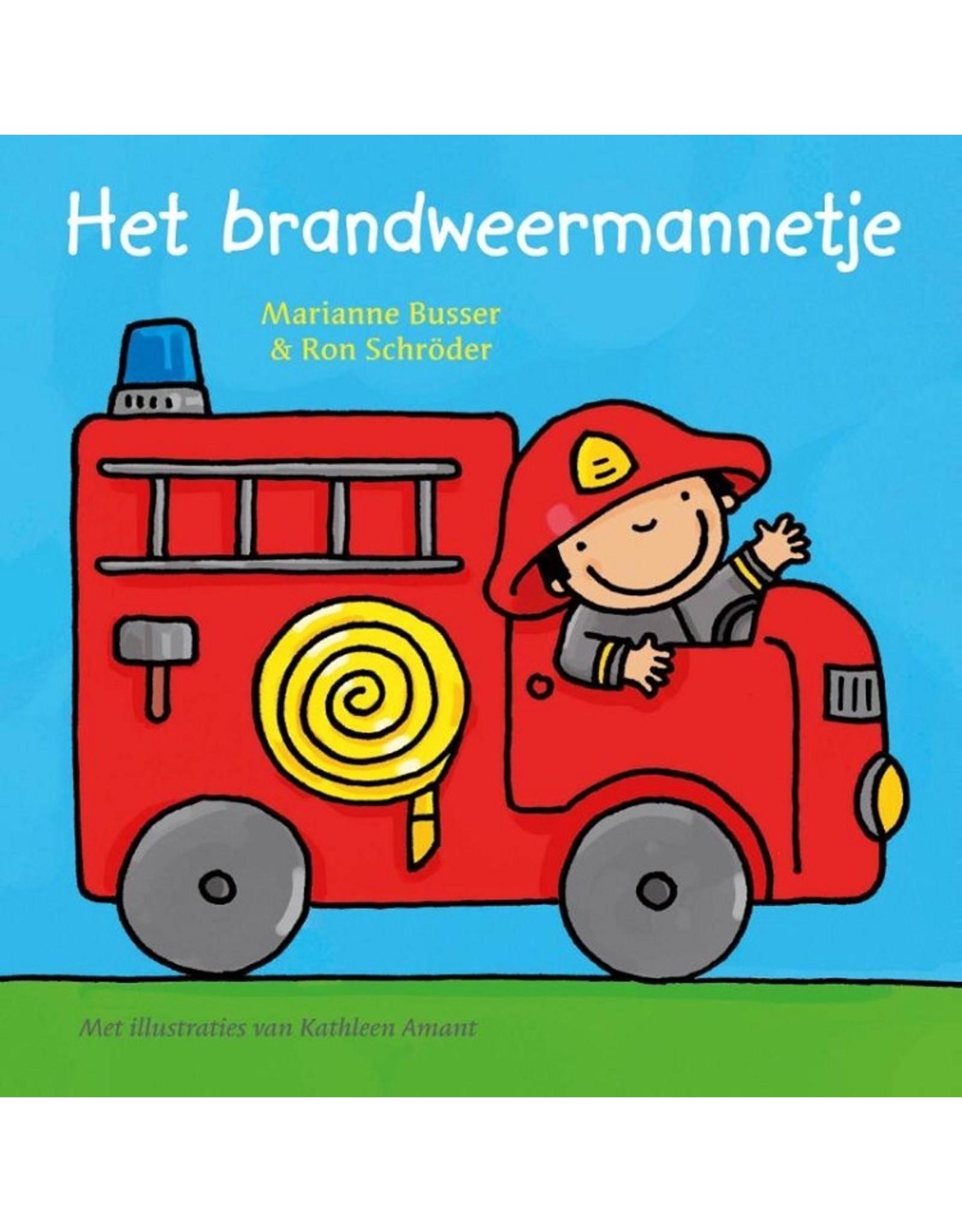 Het Brandweermannetje kartonboekje 2+