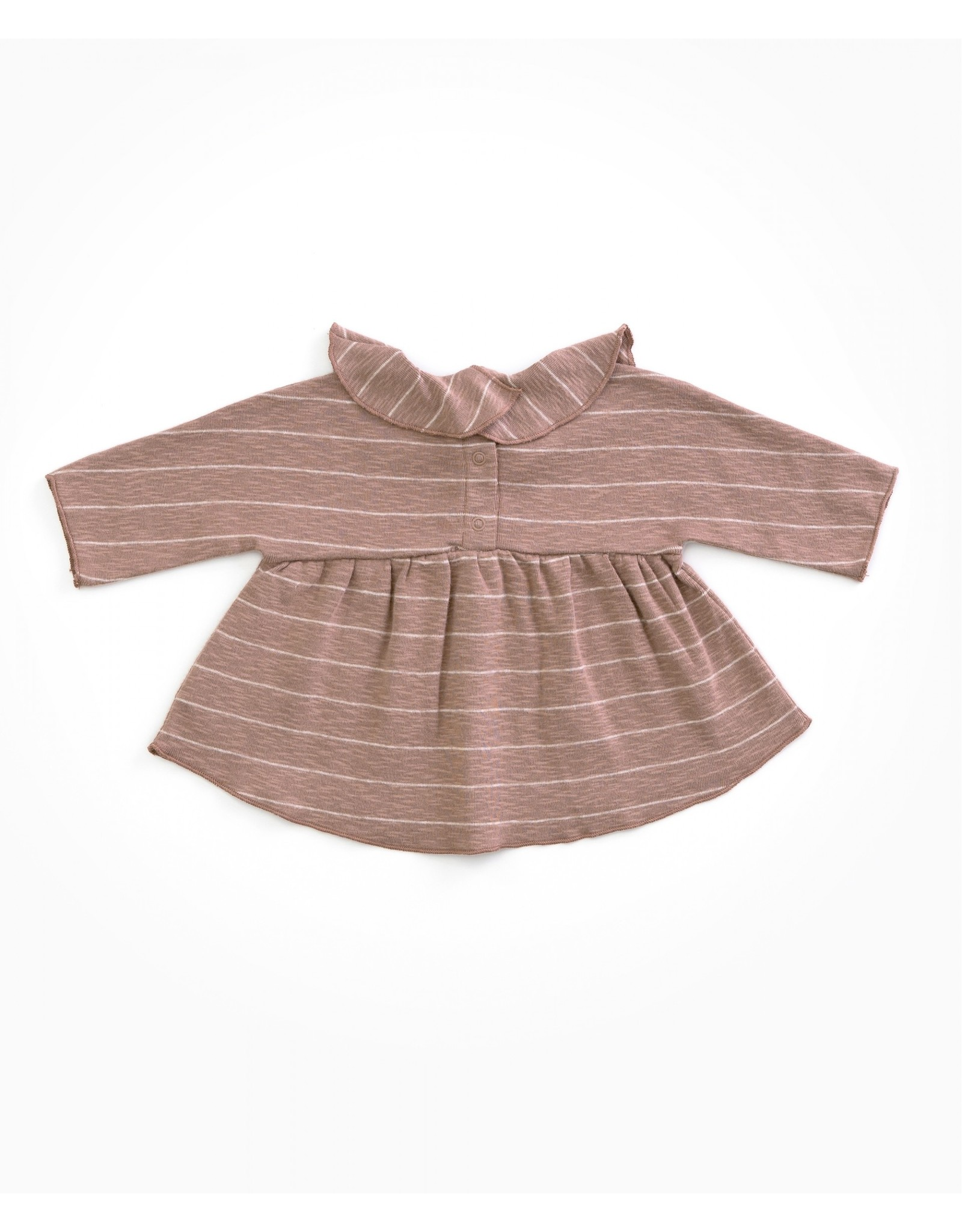 Play Up Play Up Striped T-shirt with a Frill Purplewood