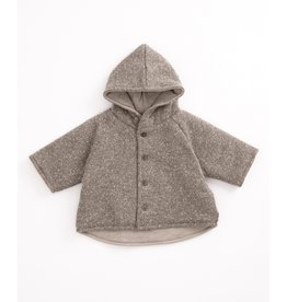Play Up Play Up Recycled Jersey Coat Jeronimo