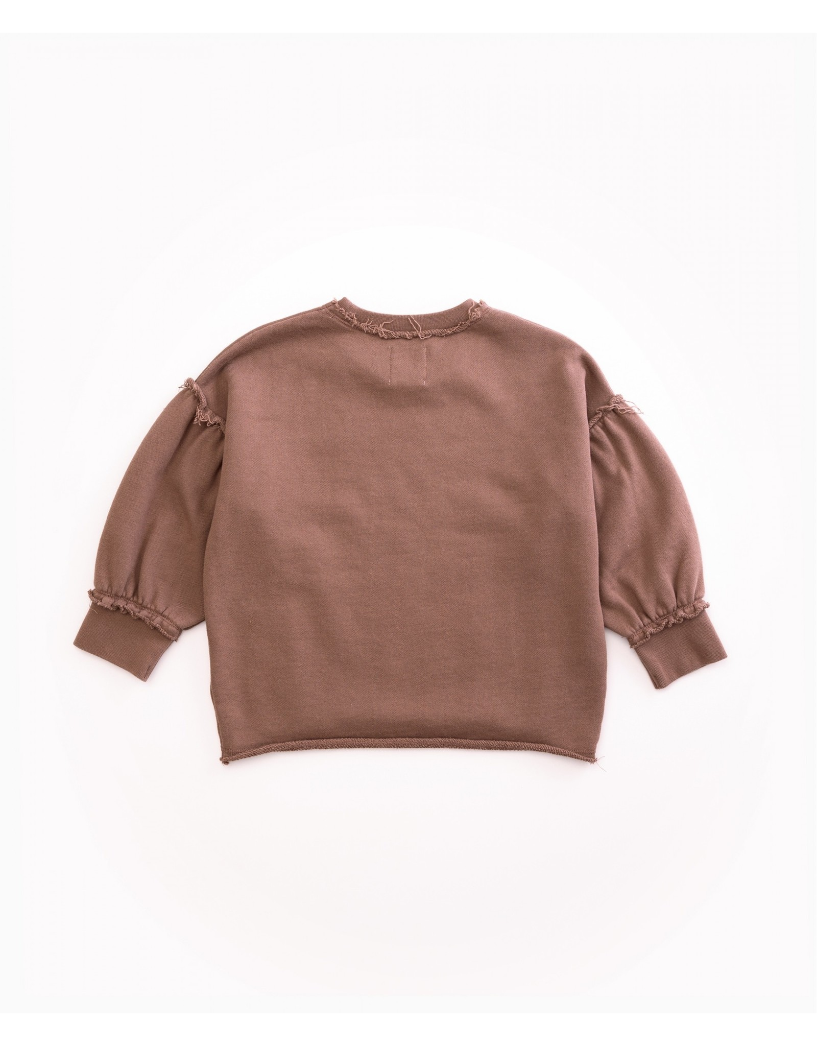 Play Up Play Up Sweater Jersey in Organic with Cuffs Purplewood