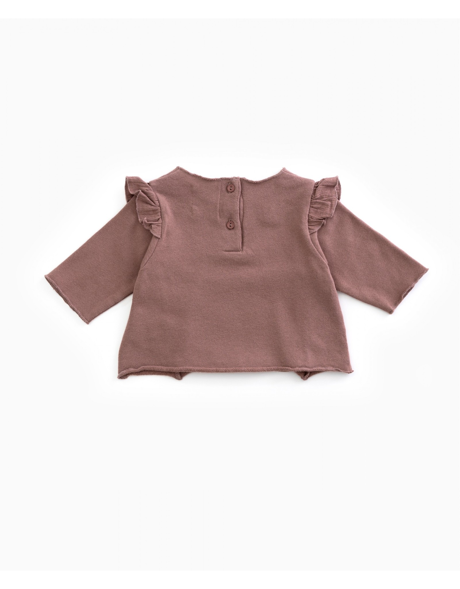 Play Up Play Up Jersey in organic cotton with a frill PURPLEWOOD