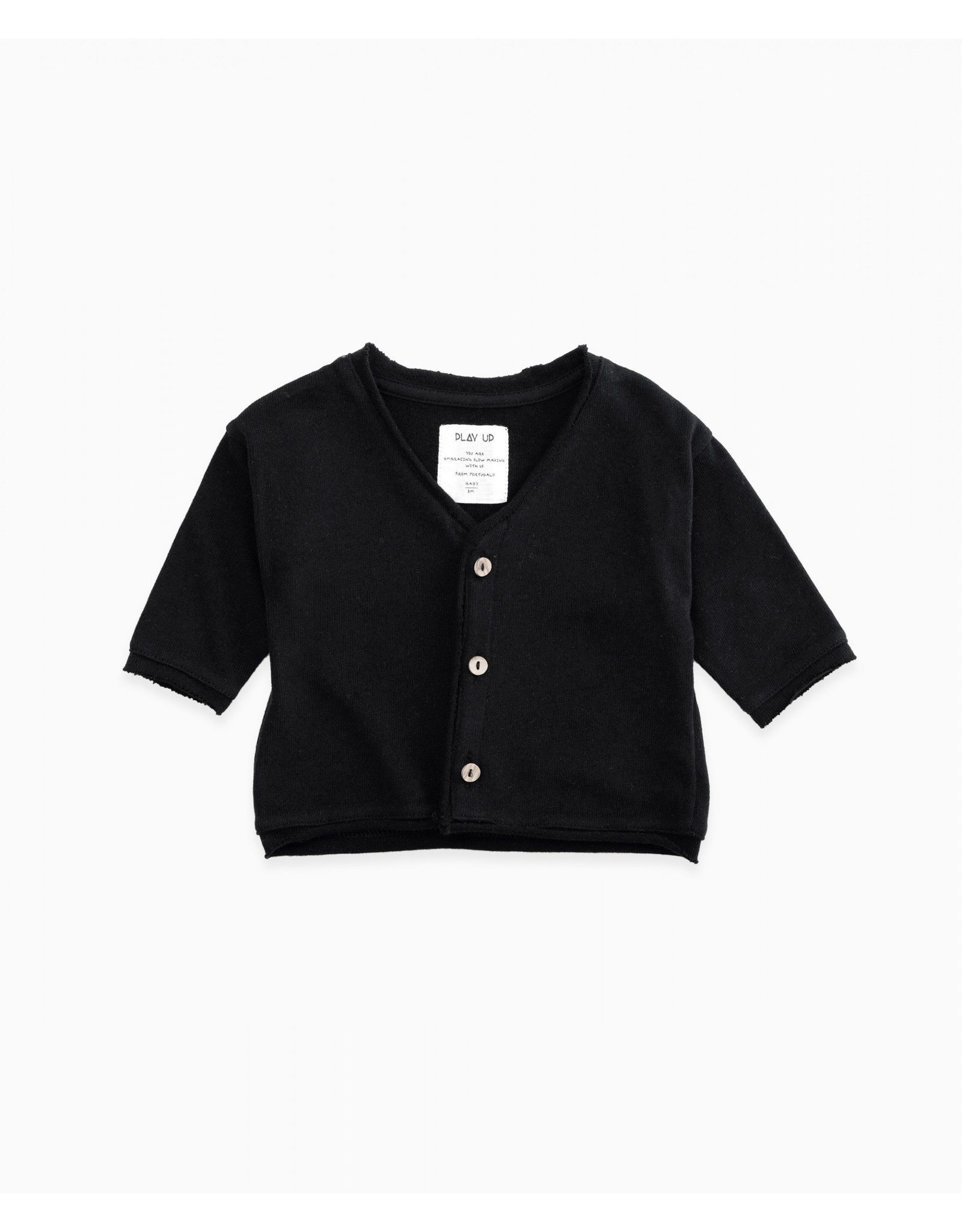 Play Up Play Up Jersey Cardigan in Organic Cotton RULER