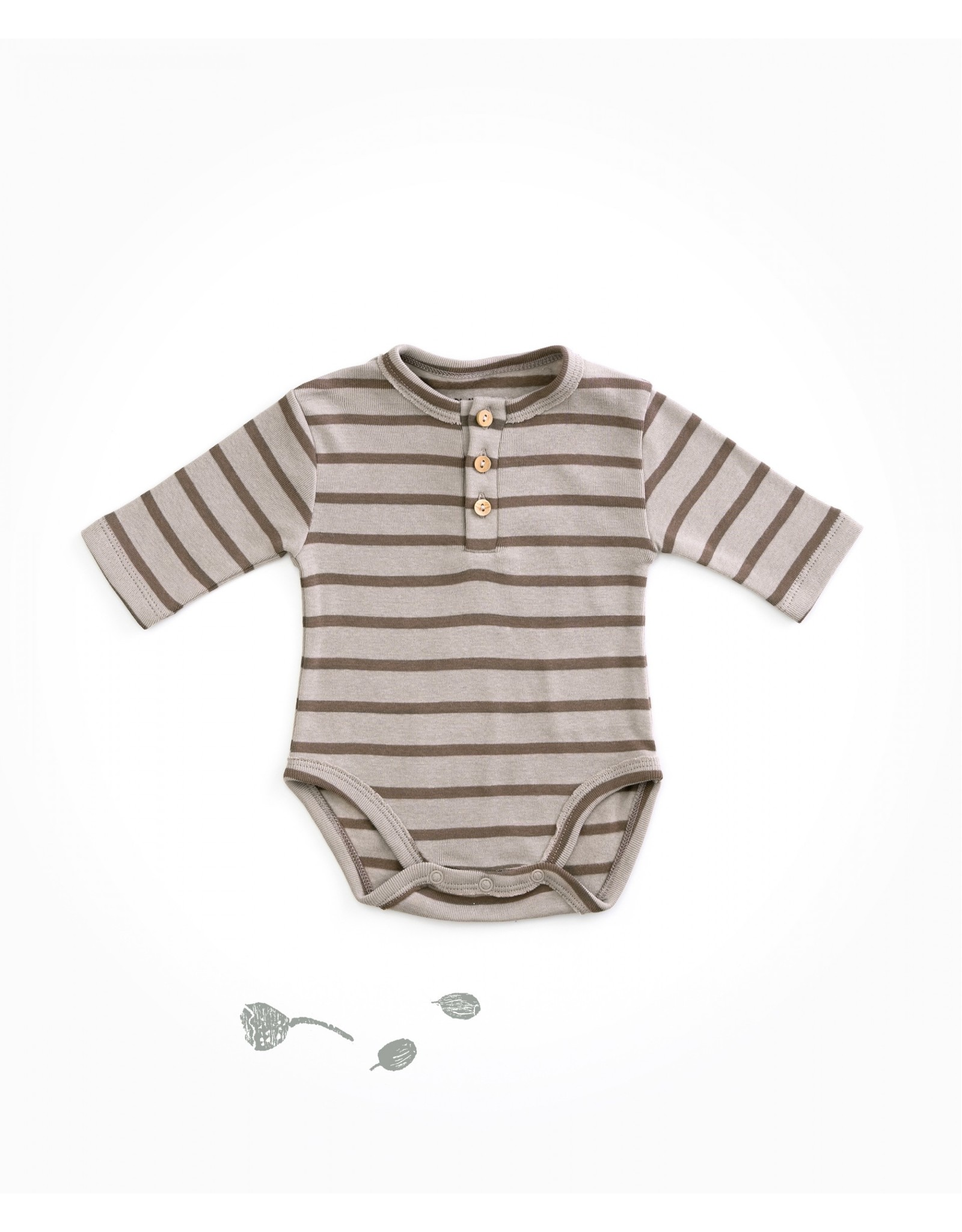 Play Up Play Up Striped Body with wooden buttons JERÓNIMO