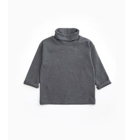 Play Up Play Up High Collar T-shirt GREY MELANGE