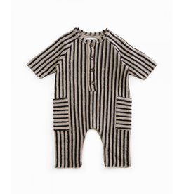 Play Up Play Up Striped Double Face Jumpsuit Jeronimo