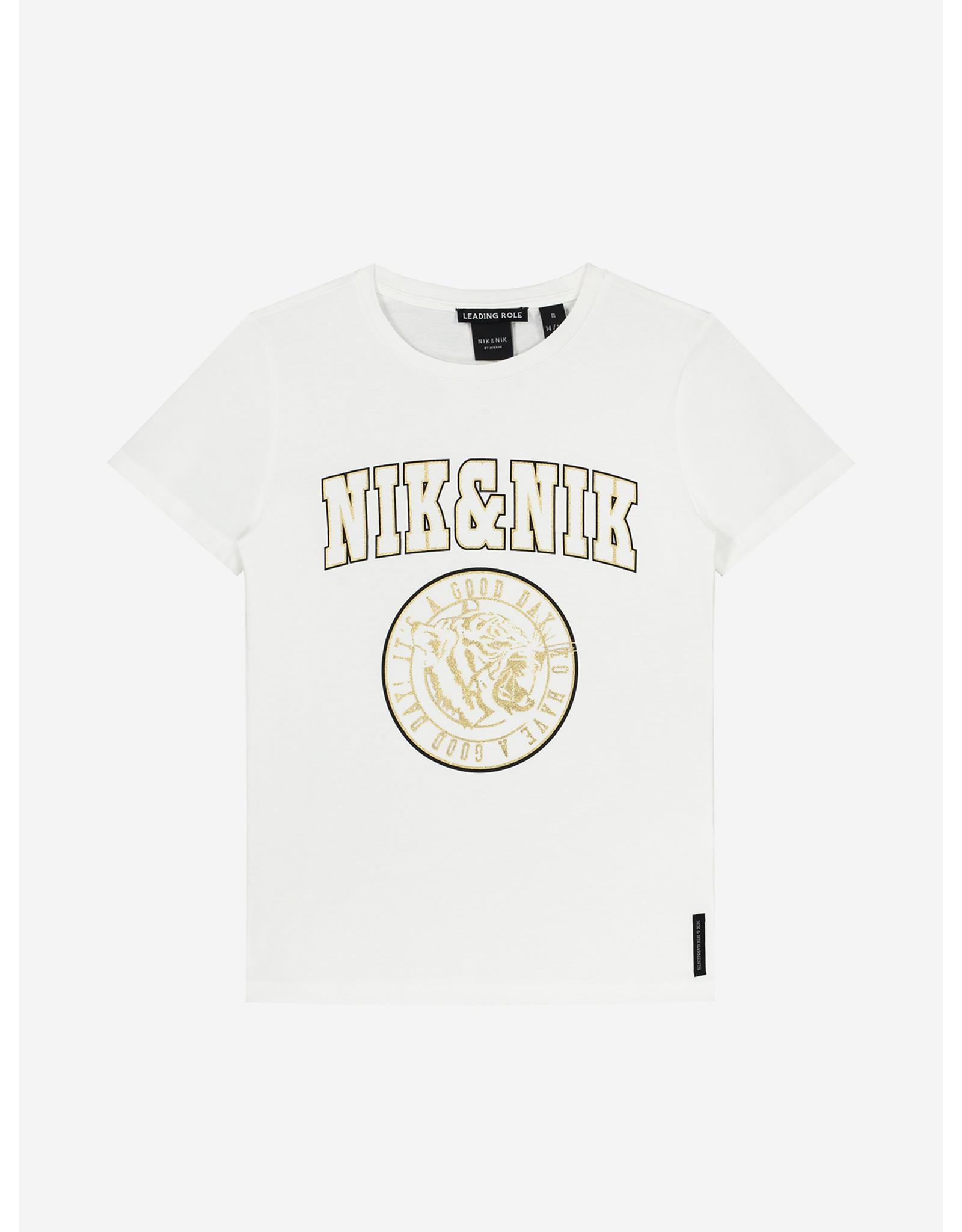 Nik&Nik NIK&NIK Poppy T-shirt Off White