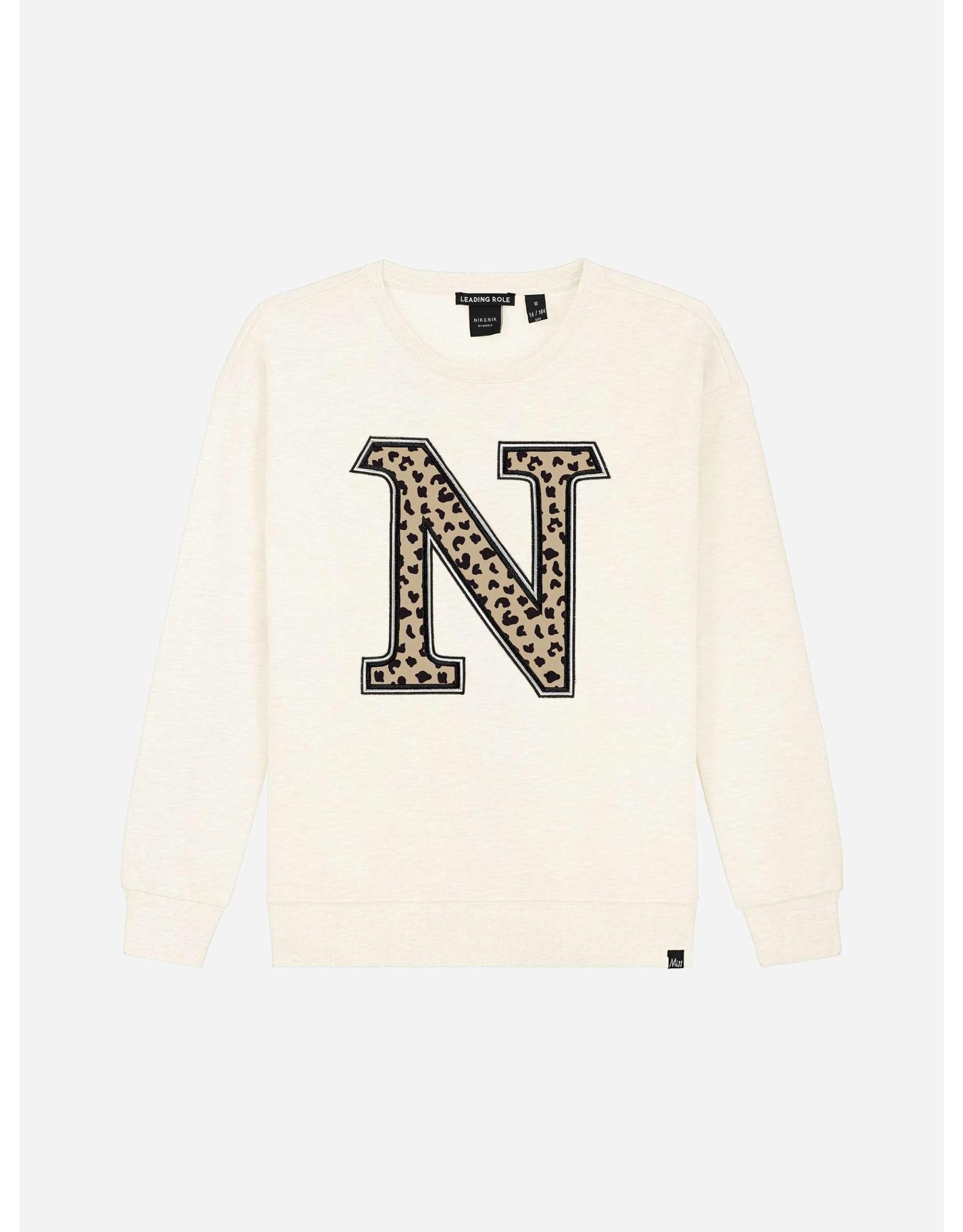Nik&Nik NIK&NIK Poloma Sweater Light Vintage
