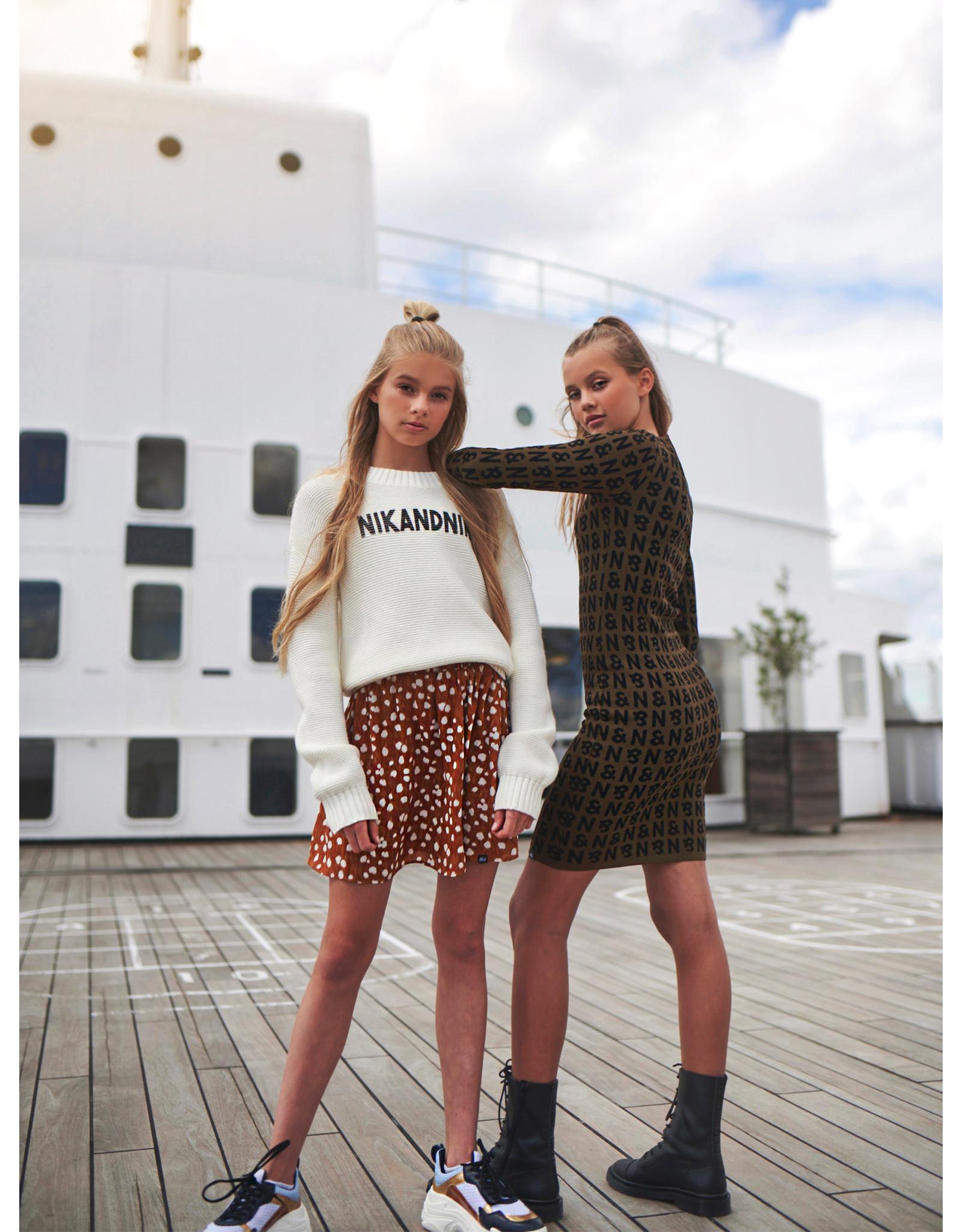 Nik&Nik NIK&NIK Aubree Pullover Off White