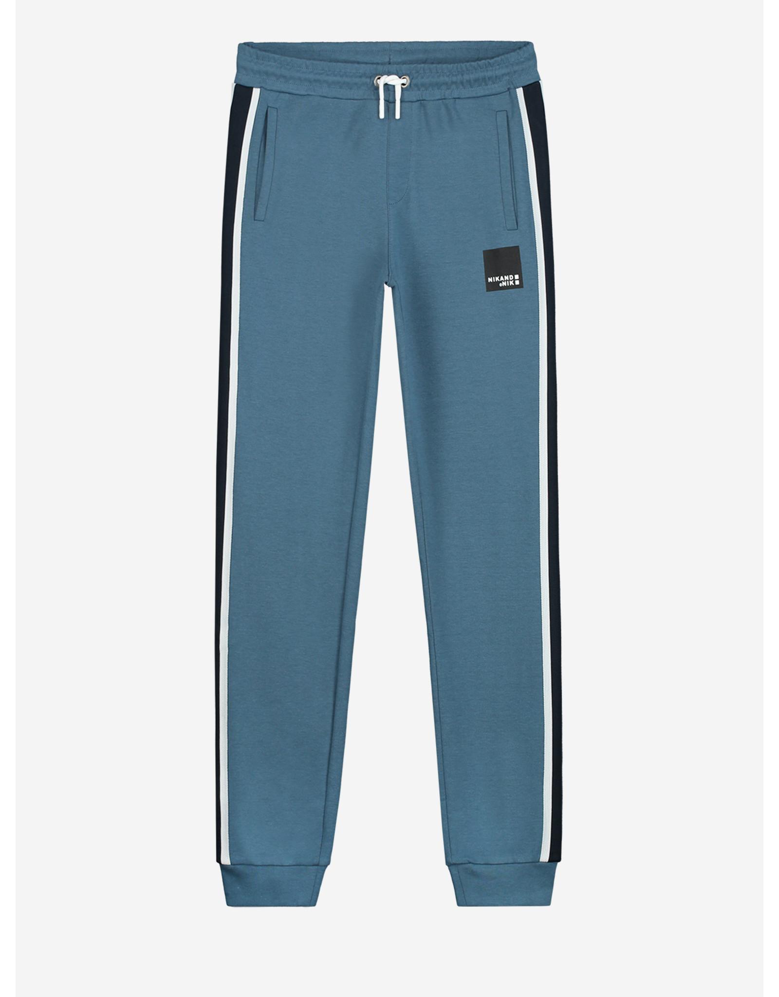 Nik&Nik NIK&NIK Ferlen Sweatpants Dusty Blue