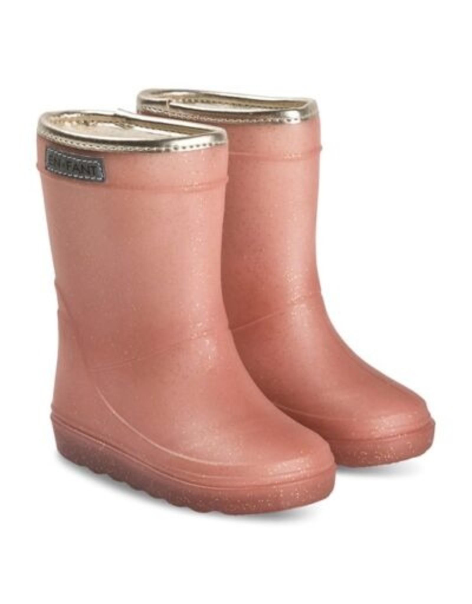 Enfant EN FANT Thermo Boots Metallic Rose