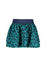 B.Nosy Baby Girls Aop Flame Skirt Wit