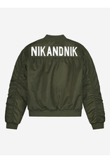 Nik&Nik NIK & NIK Even Bomber-Military Green