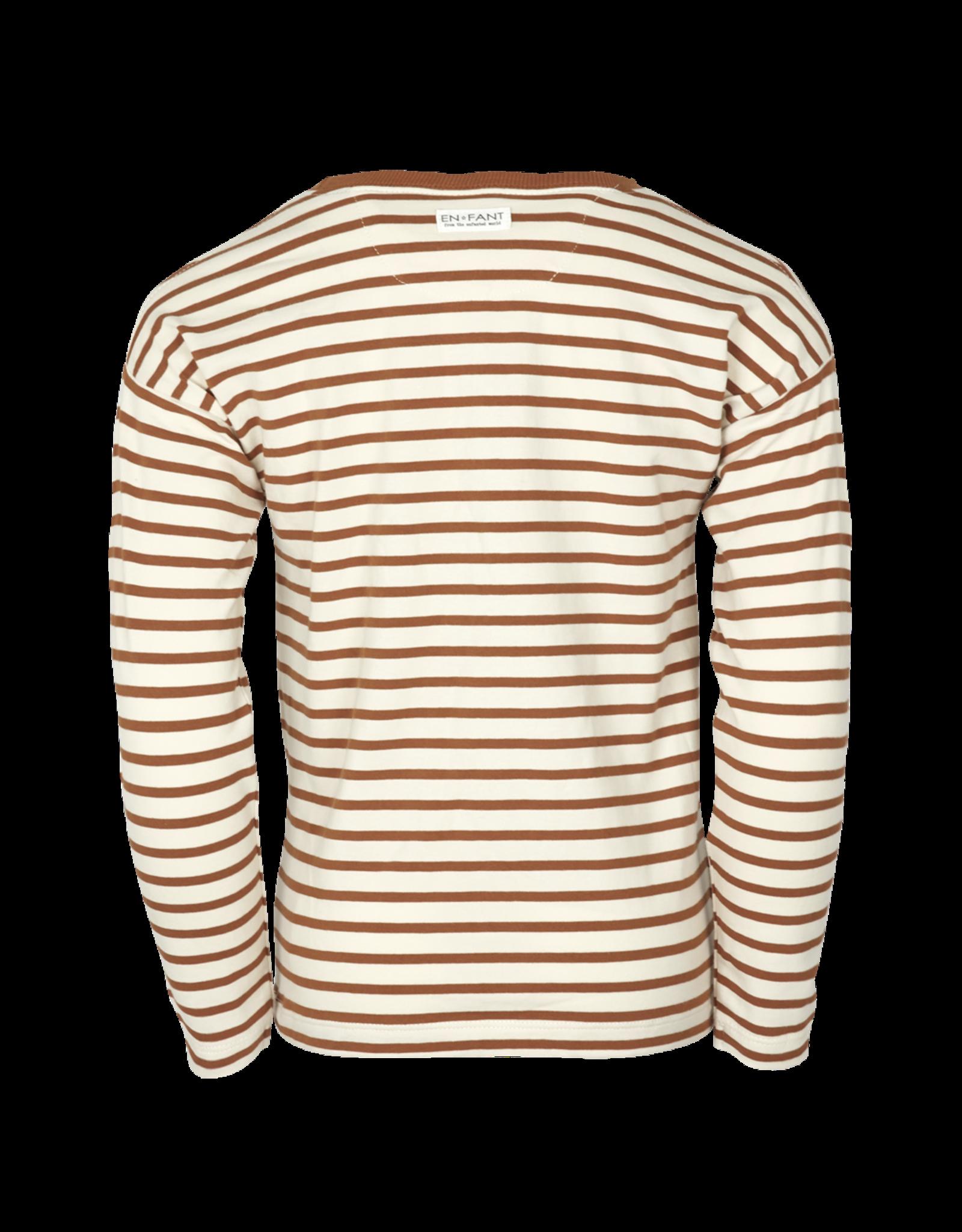 EN FANT En Fant LS T-Shirt -Oekotex- Leather Brown