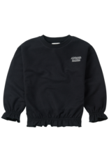 Sproet & Sprout Sproet & Sprout  Sweater Ruffle Black