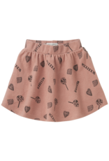 Sproet & Sprout Sproet & Sprout Skirt Candy AOP Mauve