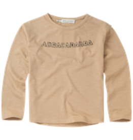 Sproet & Sprout Sproet & Sprout T-shirt Abracadabra Text Nougat
