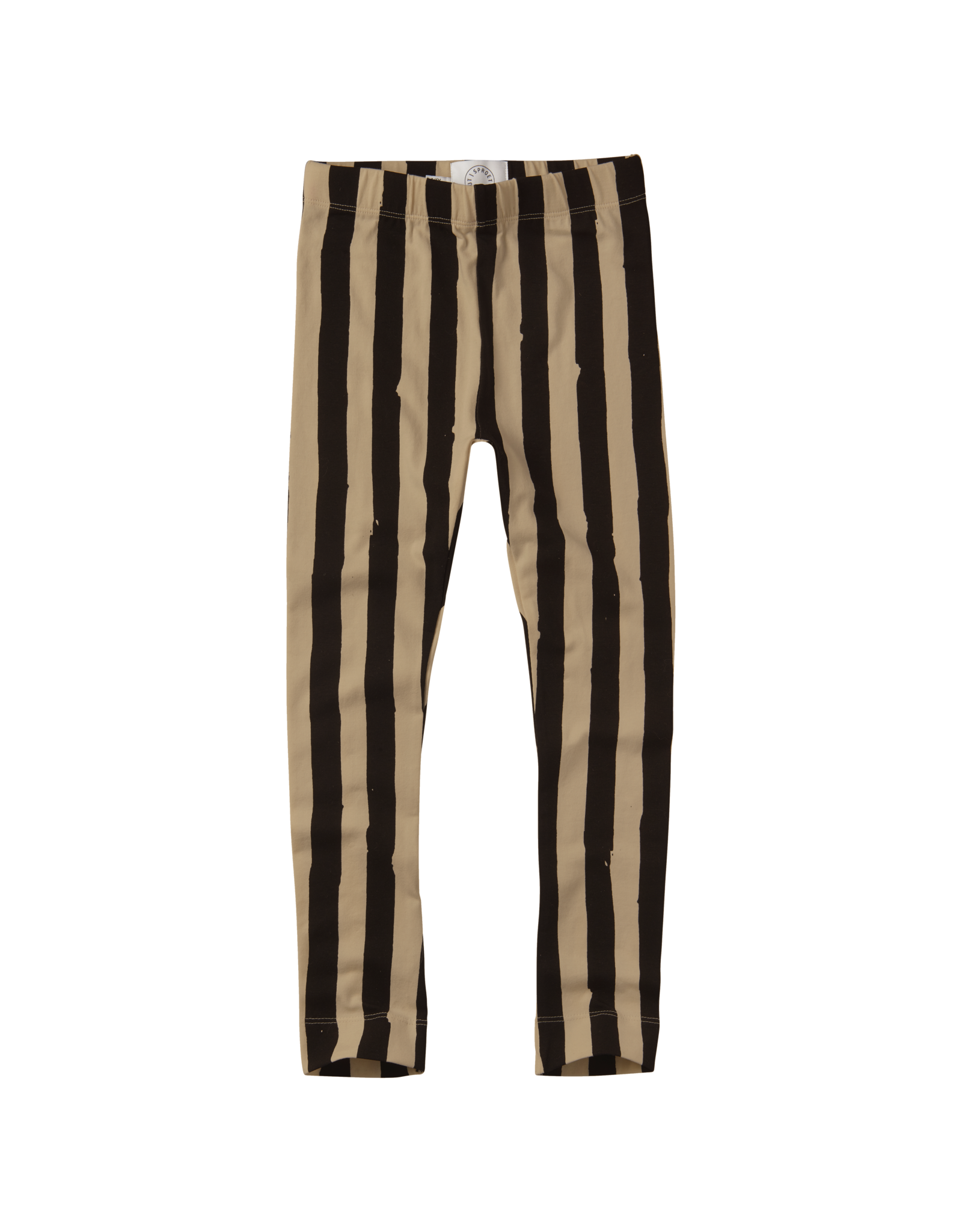 Sproet & Sprout Sproet & Sprout Pants Painted Stripe-Black Nougat